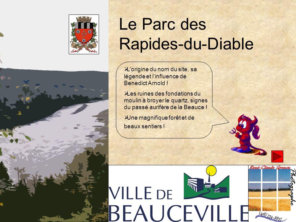 Le Parc des Rapides-du-Diable Lorigine du nom du site, sa légende et linfluence de Benedict Arnold .