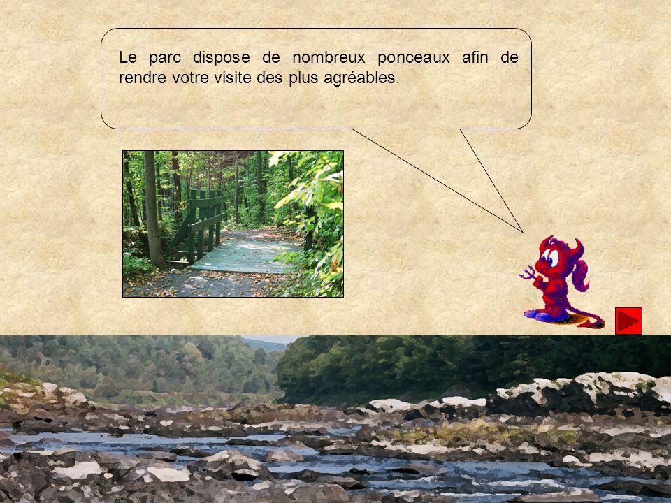 Pour ressentir un dépaysement des plus total, arrêtez-vous sur les bancs en bordure de la rivière Chaudière.
