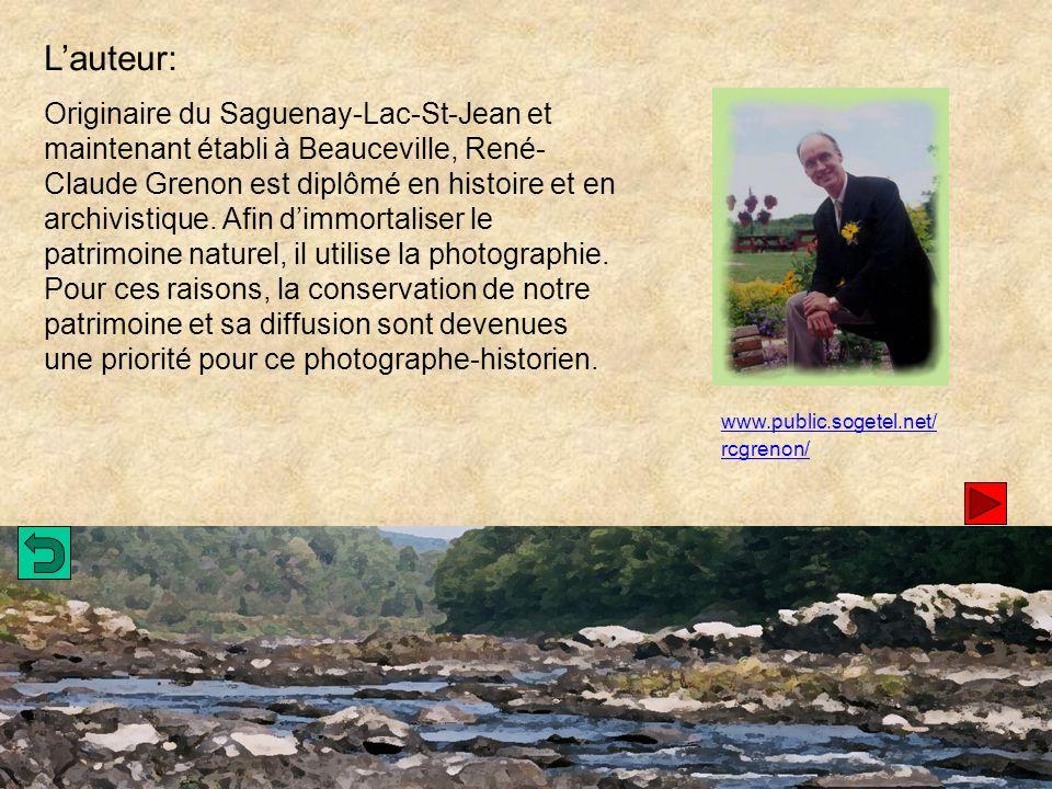 Lauteur: Originaire du Saguenay-Lac-St-Jean et maintenant établi à Beauceville, René- Claude Grenon est diplômé en histoire et en archivistique.