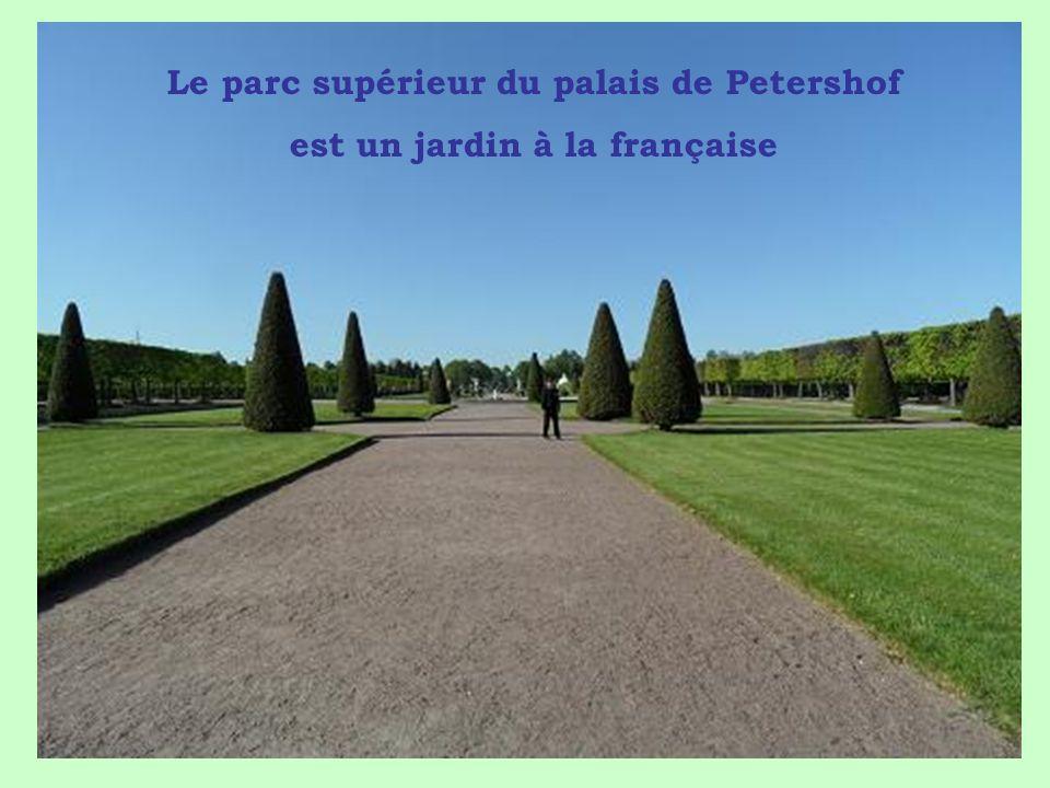 Pierre le Grand offrit à sa deuxième femme «Catherine 1ère» un domaine situé à 25 km de Saint Pétersbourg pour y installer une superbe résidence.