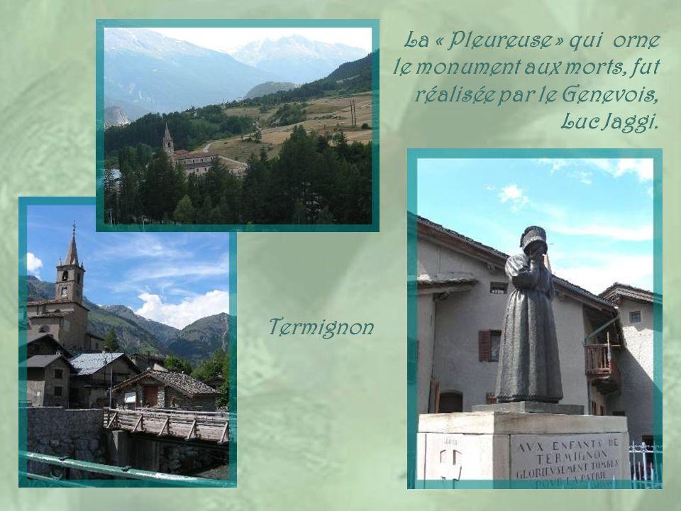 Comme Bramans, la commune de Solières-Sardières, distante de cinq km, formée de trois hameaux, est située sur le site du parc national de la Vanoise.