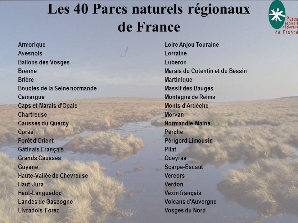 L es PNR Le Parc naturel régional a pour objet : De protéger et de mettre en valeur le patrimoine De protéger et de mettre en valeur le patrimoine ( p