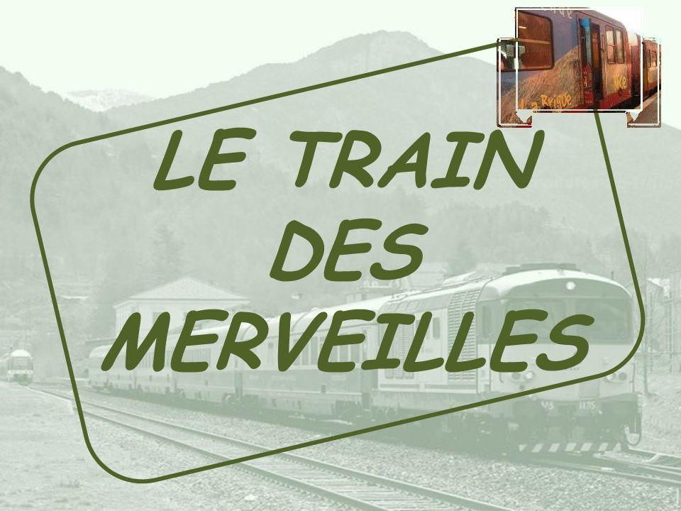 LE TRAIN DES MERVEILLES