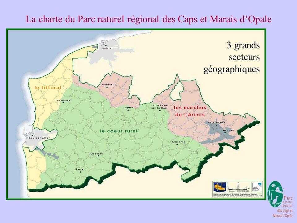 La charte du Parc naturel régional des Caps et Marais dOpale Projet de territoire basé sur le patrimoine, sur sa sauvegarde et sa valorisation