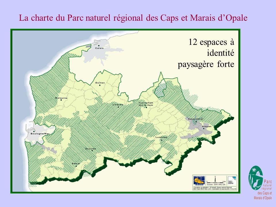 La charte du Parc naturel régional des Caps et Marais dOpale 3 grands secteurs géographiques