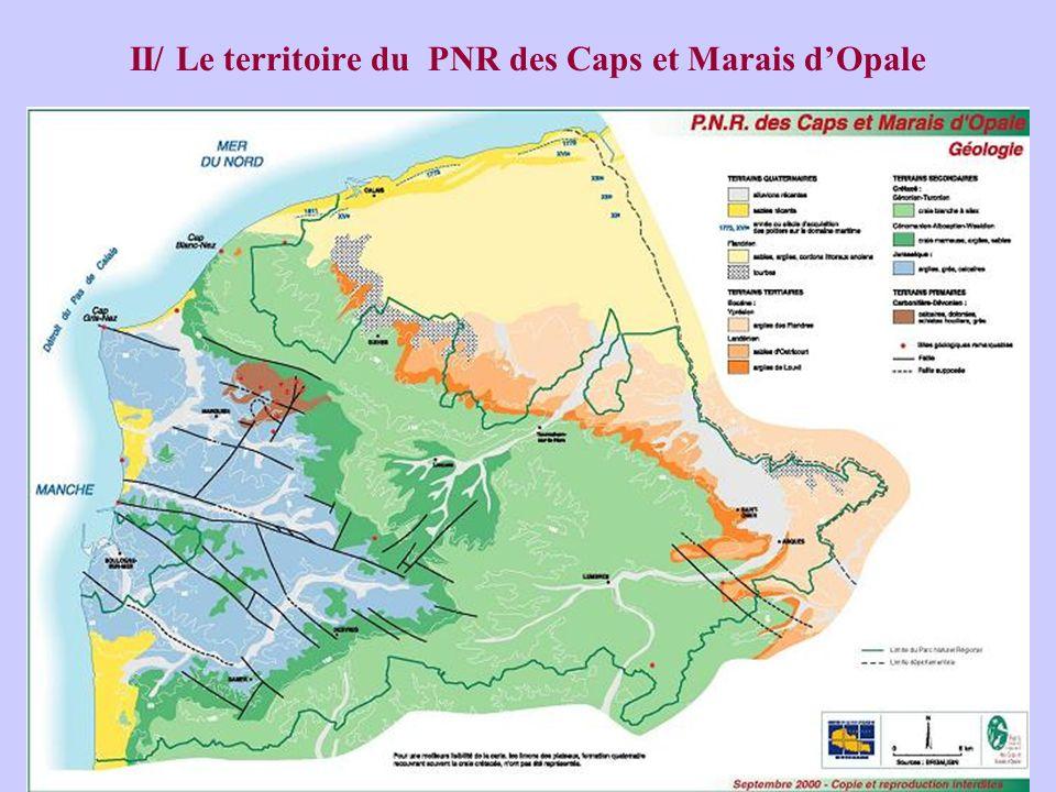 II/ Le territoire du PNR des Caps et Marais dOpale