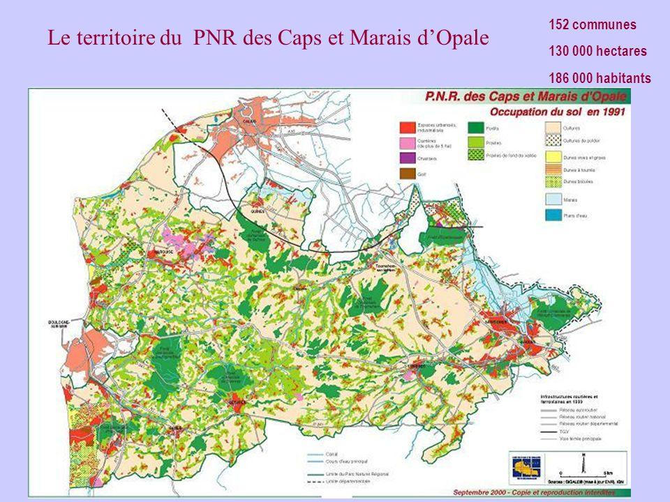 Le territoire du PNR des Caps et Marais dOpale