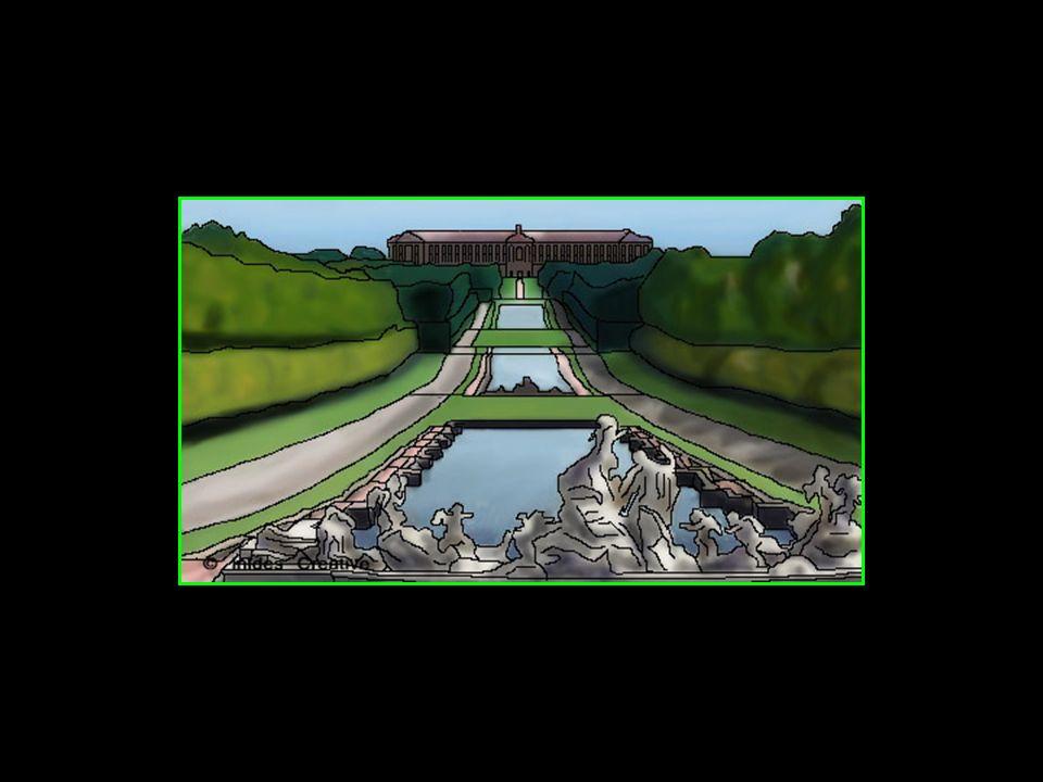 Il sinspire du parc du château de Versailles et certains nhésitent pas à affirmer quil le dépasse même en beauté et majesté