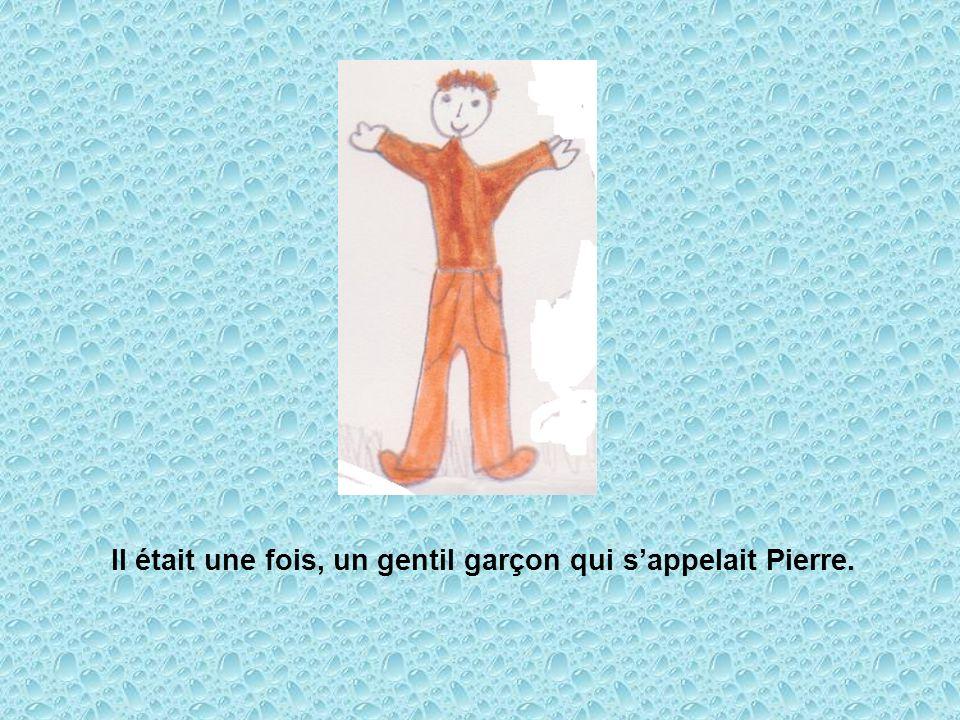 Il était une fois, un gentil garçon qui sappelait Pierre.