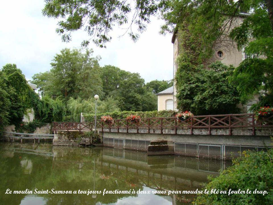 Le moulin Saint-Samson est lun des plus importants de la rivière.