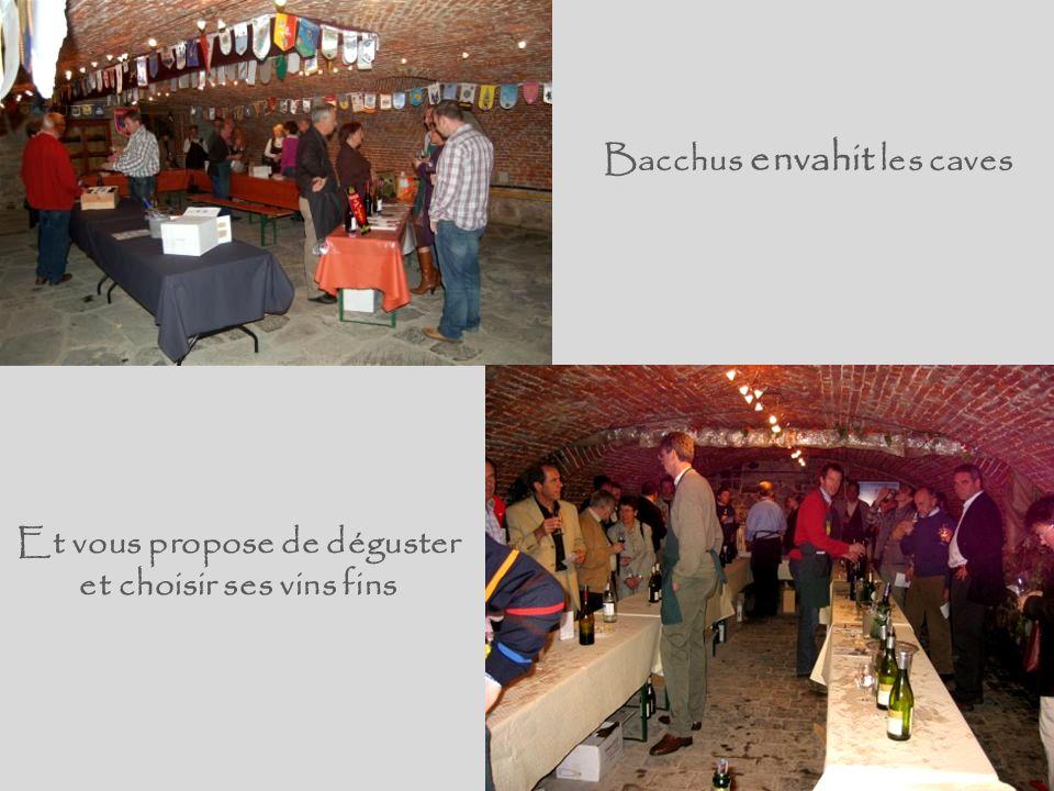 Le samedi 10 et dimanche 11 octobre 2009 VAL DIEU accueille … BACCHUS