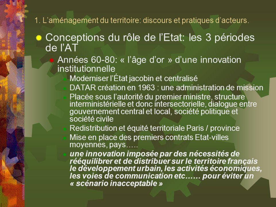 « Le scénario de linacceptable » Source : DATAR, Une image de la France en lan 2000, 1971.