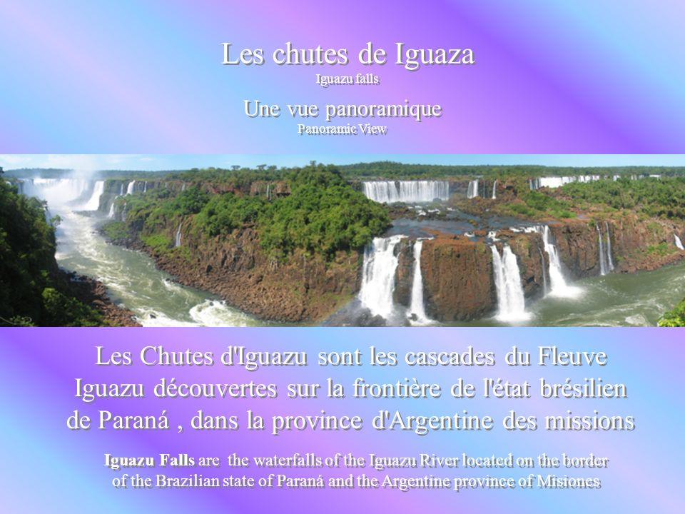 Les chutes de Iguazu GUAZU FALLS Les chutes de Iguazu GUAZU FALLS