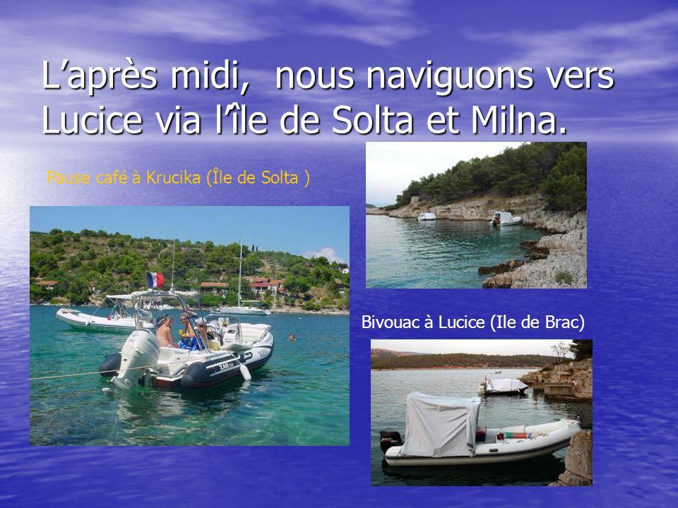 Ville dans la ville, Split sest installée dans le palais de Dioclétien depuis presque 2000 ans Dans le port de Split, cest pas la foule .