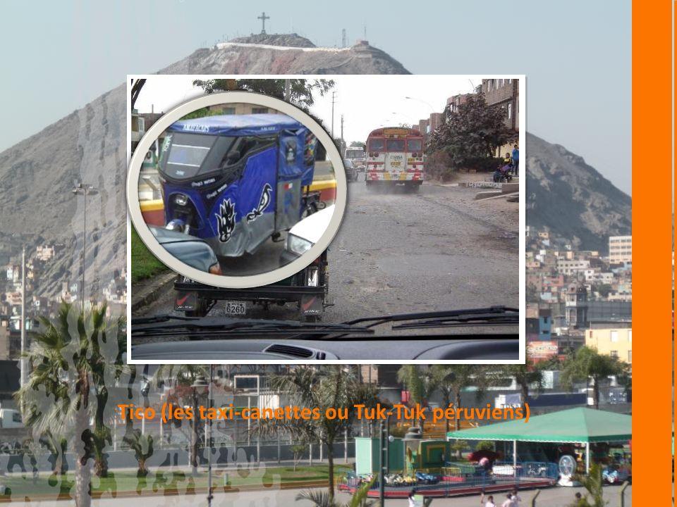 Tico (les taxi-canettes ou Tuk-Tuk péruviens)