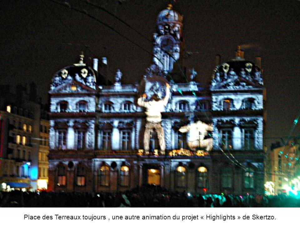 Place des Terreaux, le même tableau vu sous un autre angle de « Highlights » de Skertzo.