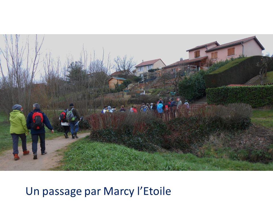 Un passage par Marcy lEtoile