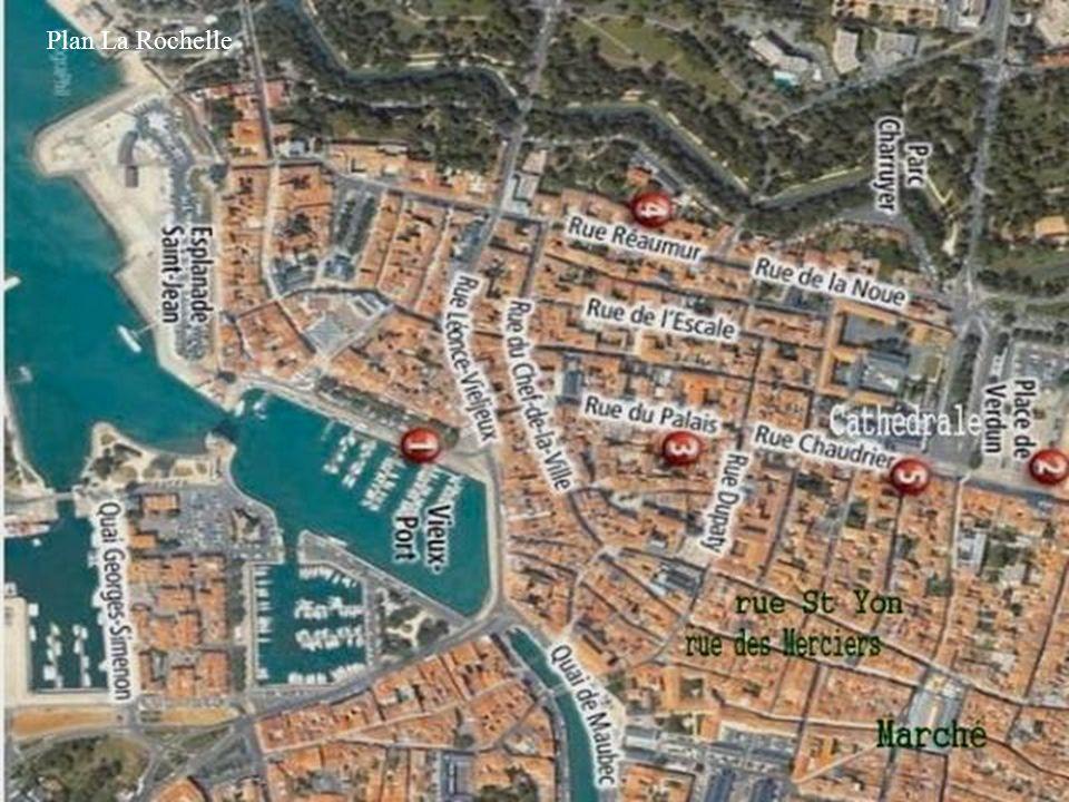 Plan La Rochelle