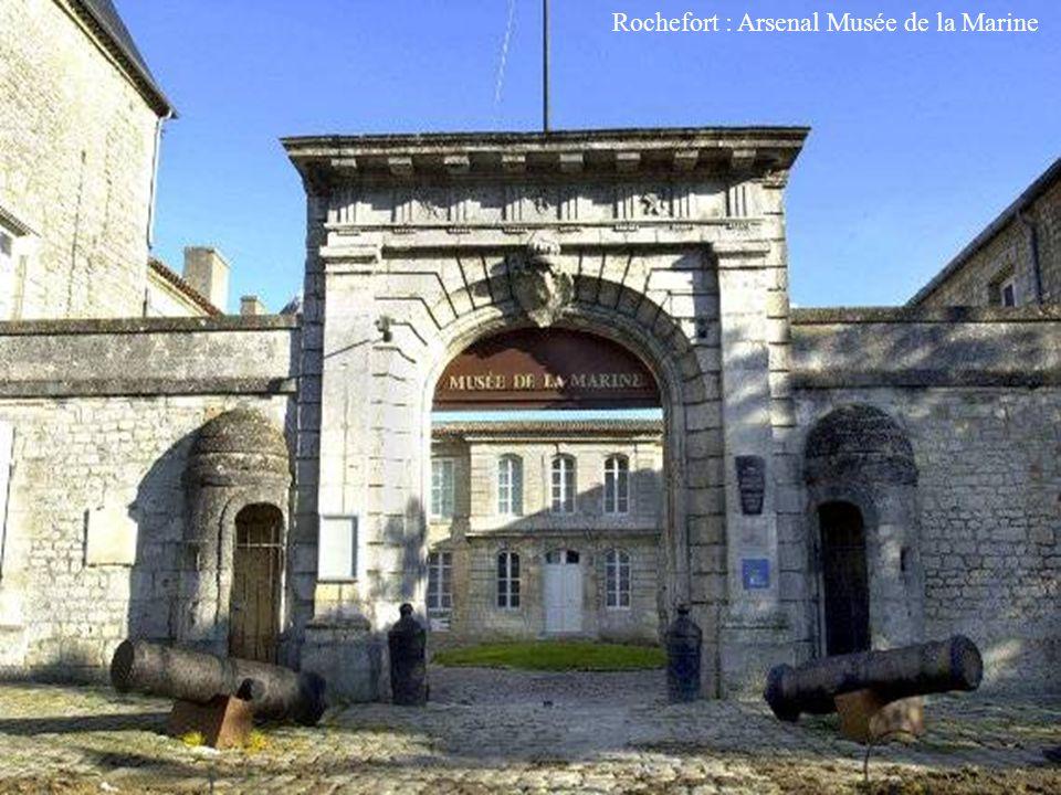Rochefort : Corderie Royale