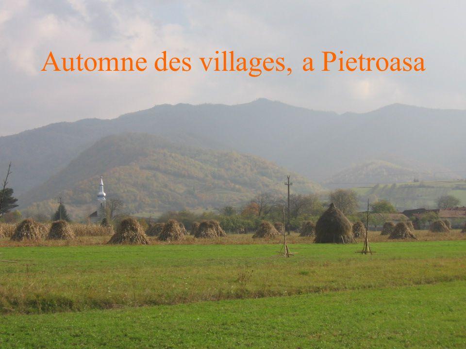 Automne des villages, a Pietroasa