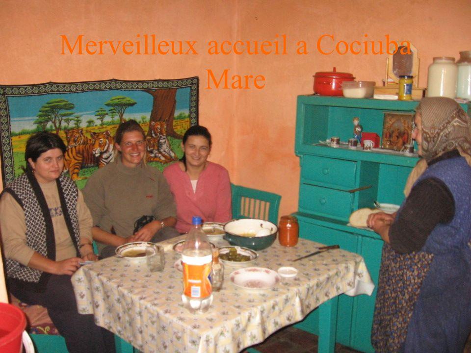 Merveilleux accueil a Cociuba Mare