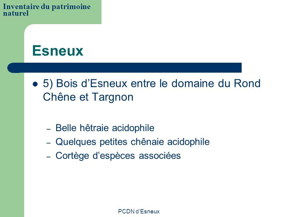 Esneux 5) Bois dEsneux entre le domaine du Rond Chêne et Targnon – Belle hêtraie acidophile – Quelques petites chênaie acidophile – Cortège despèces a