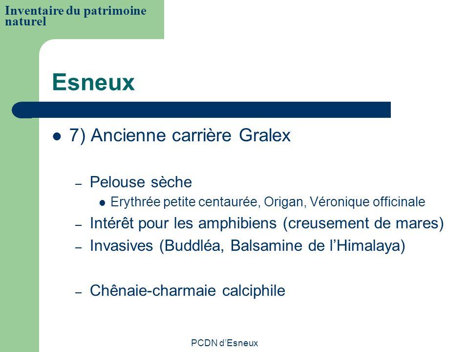 Esneux 7) Ancienne carrière Gralex – Pelouse sèche Erythrée petite centaurée, Origan, Véronique officinale – Intérêt pour les amphibiens (creusement d