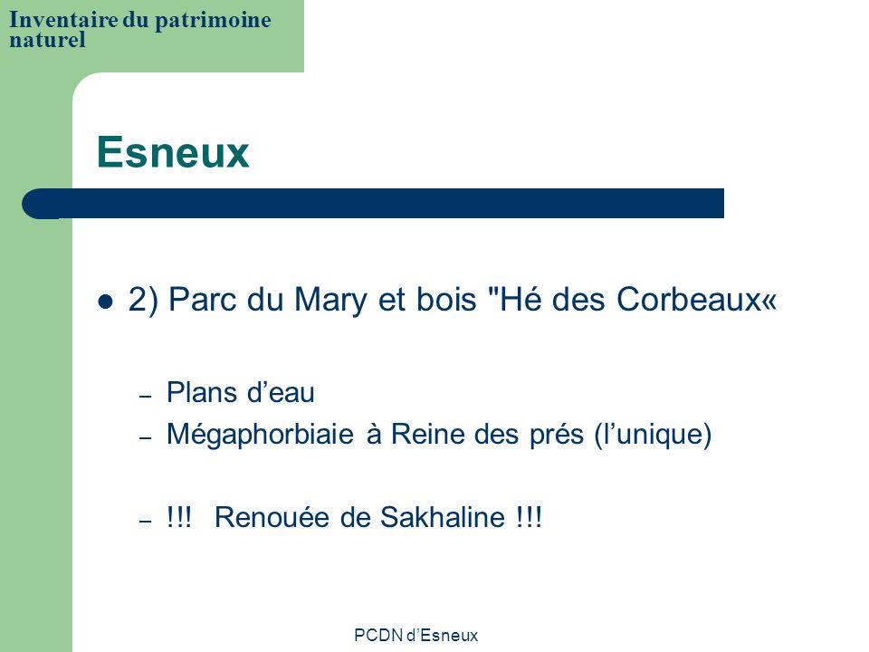 Esneux 2) Parc du Mary et bois