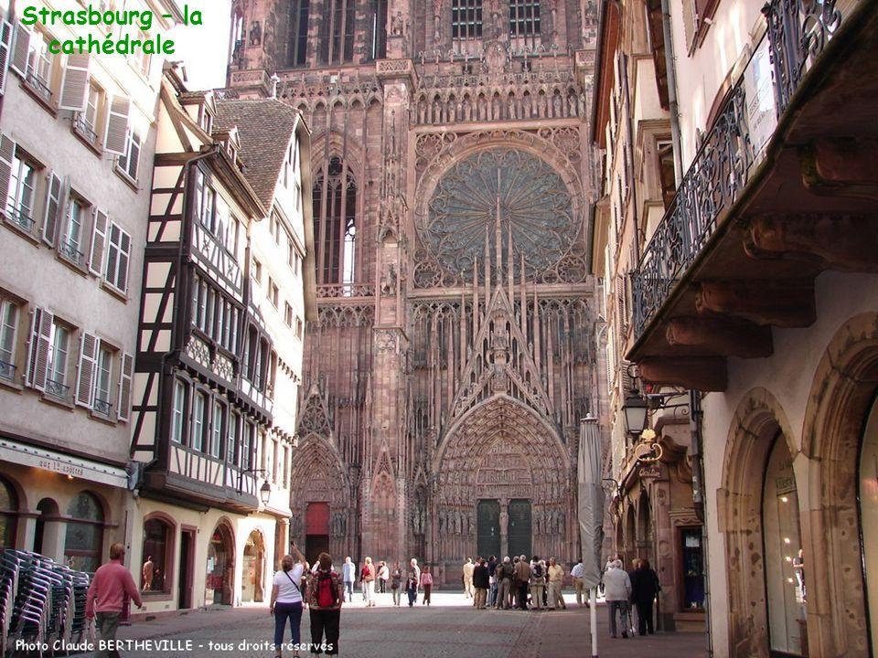 Strasbourg – la cathédrale