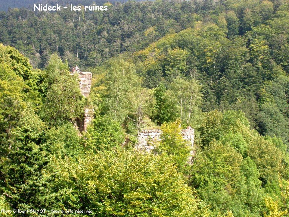 Nideck – les ruines
