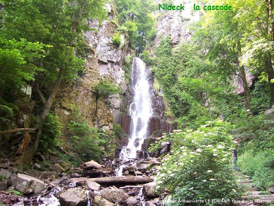Nideck – la cascade