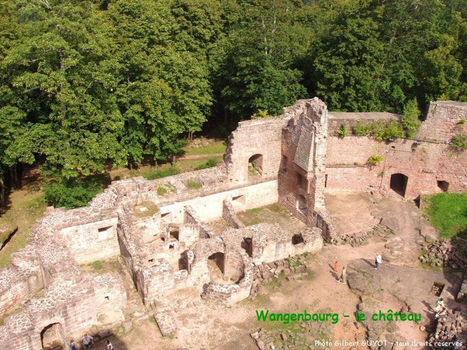 Wangenbourg – le château