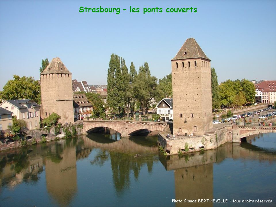 Strasbourg – les ponts couverts