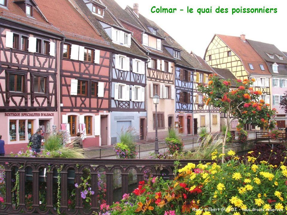Colmar – le quai des poissonniers