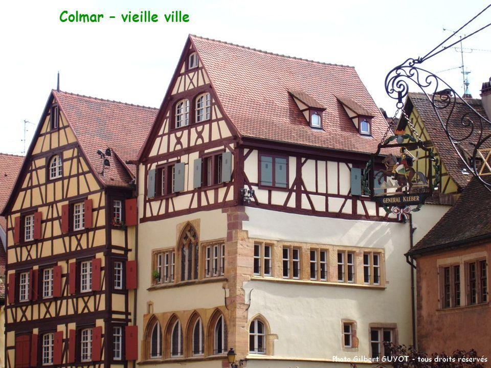 Colmar – vieille ville