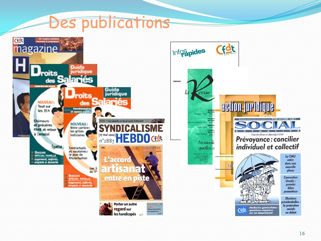 16 Des publications N° 81 du 16 novembre 2006 Destinataires :.Bureau national.Fédérations.URI.UD.Secrétaires confédéraux Prévention de la délinquance