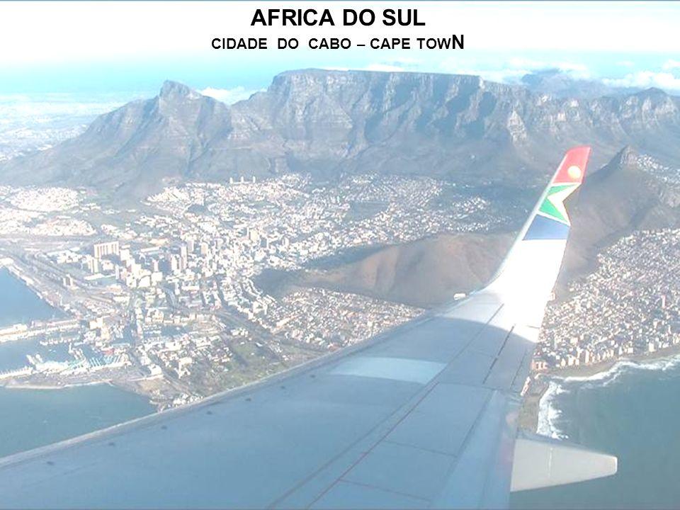 AFRICA DO SUL CIDADE DO CABO – CAPE TOW N