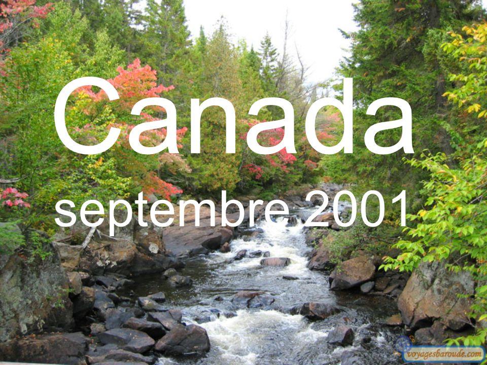 Canada septembre 2001