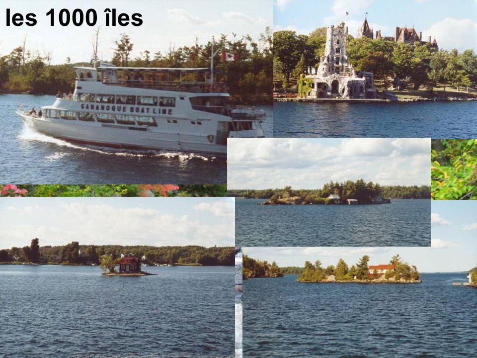 les 1000 îles