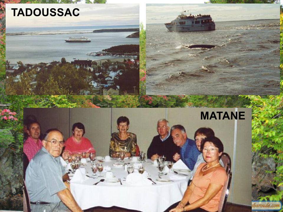 azertyuiop MATANE TADOUSSAC