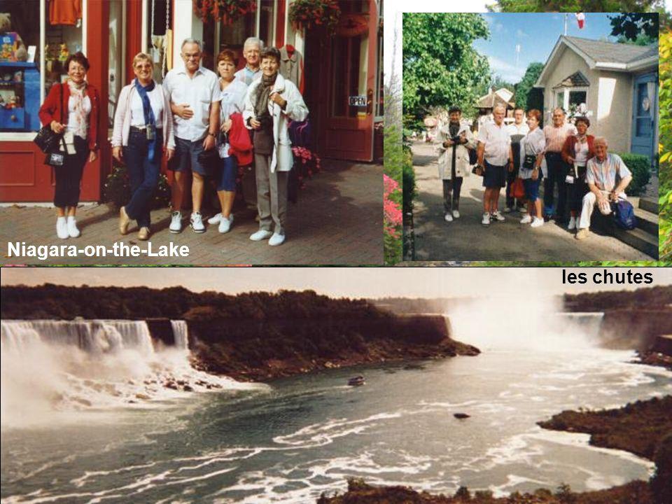 Niagara-on-the-Lake les chutes