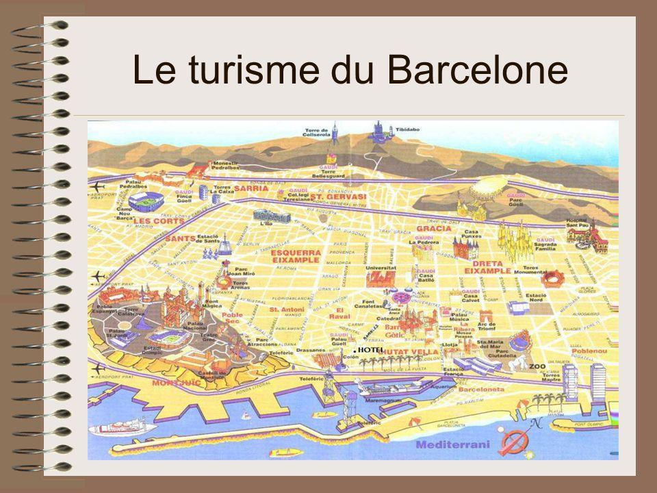 Le turisme du Barcelone