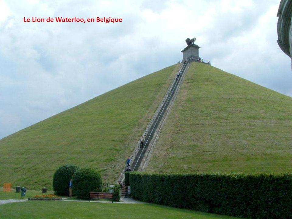 Le Lion de Waterloo, en Belgique