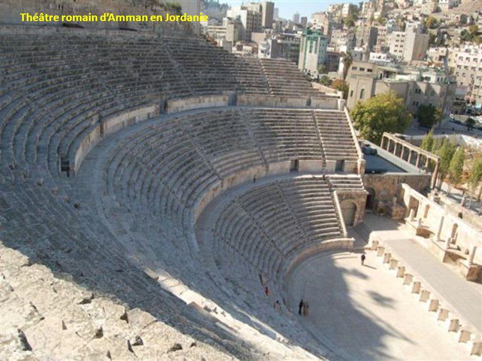 Théâtre romain dAmman en Jordanie