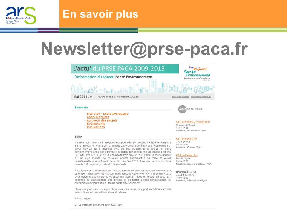 En savoir plus Newsletter@prse-paca.fr