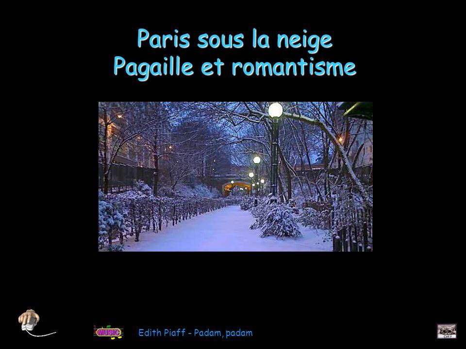 Arc de Triomphe du Carrousel sous la neige