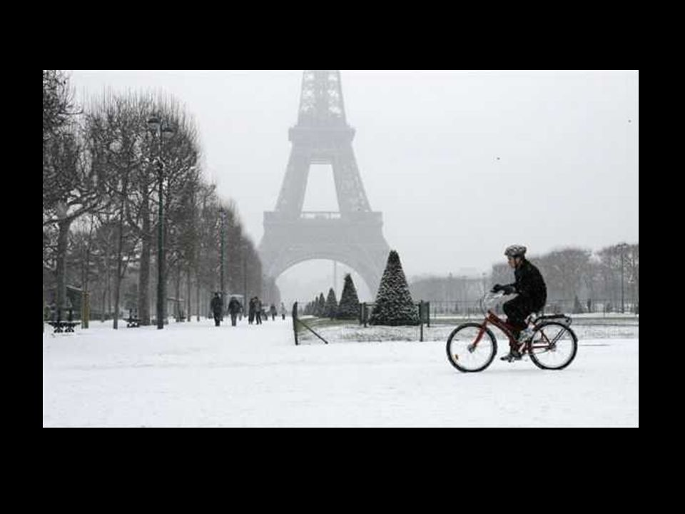 Bataille de boules de neige dans la capitale.