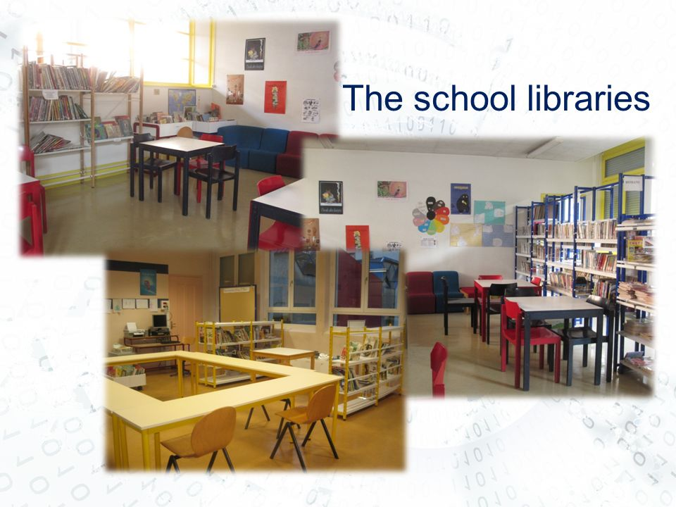 The school libraries