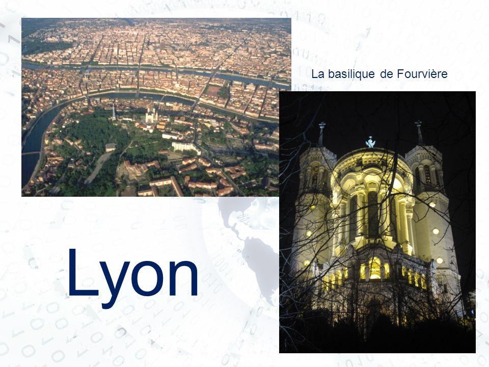 Lyon La basilique de Fourvière