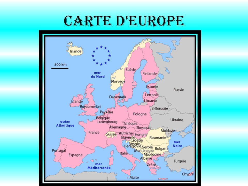 Carte dEurope